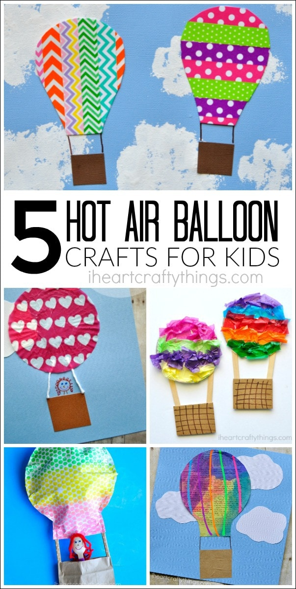 5 awesome hot air balloon crafts i heart crafty things for Art n craft from waste