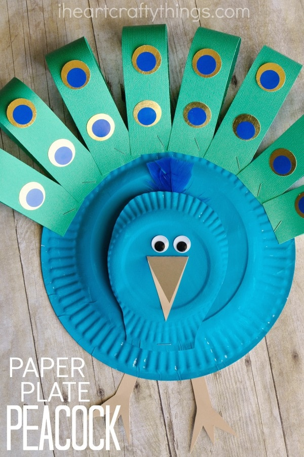 paper-plate-peacock-craft