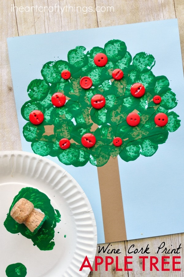wine-cork-apple-tree-craft
