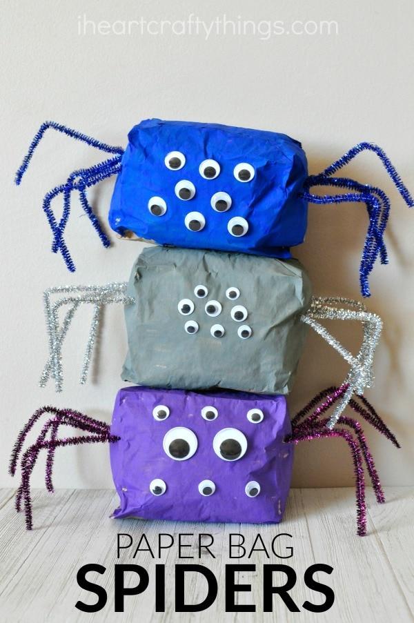 paper-bag-spider-craft