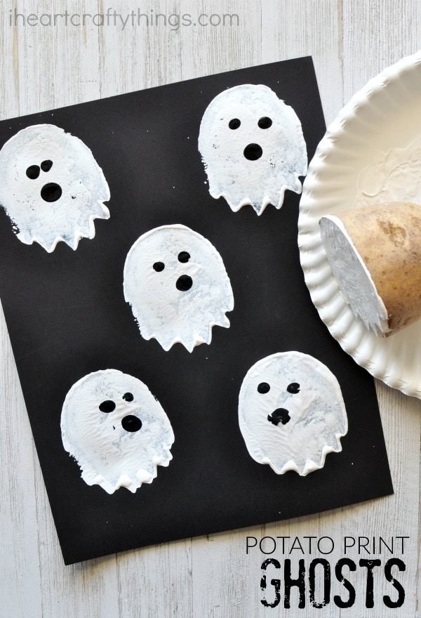 potato-print-ghost-craft