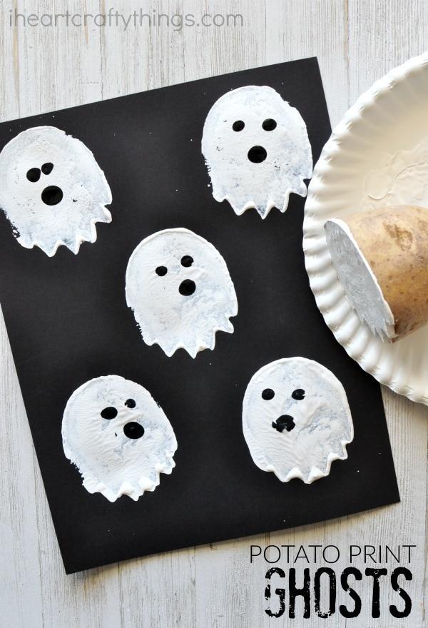 potato-print-ghost-craft