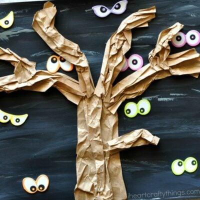 Spooky Tree Halloween Craft