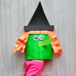 Envelope Witch Craft Puppet
