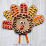 Awesome Elbow Macaroni Turkey Craft