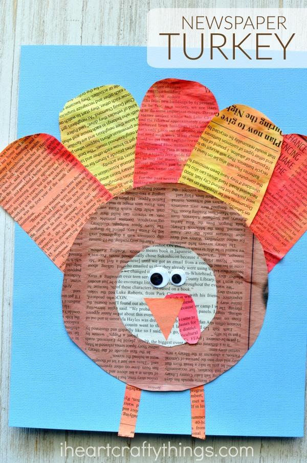 newspaper-turkey-craft-2