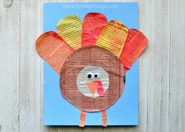 newspaper-turkey-craft-4