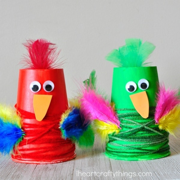 paper-cup-parrot-craft-2