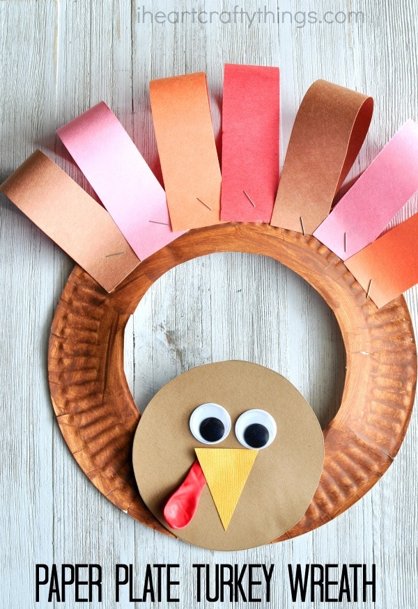 paper-plate-turkey-wreath-2