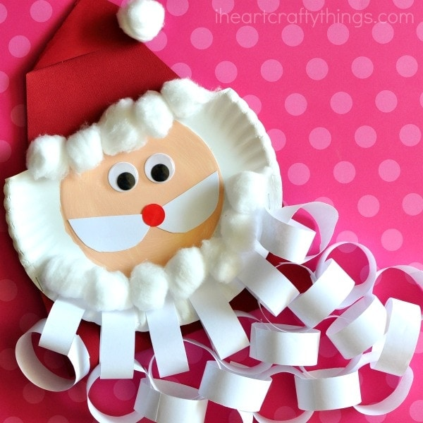 santa beard christmas countdown craft - Santa And Christmas 2