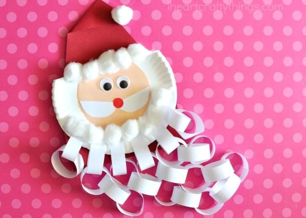 Santa-Weihnachten-Countdown-Handwerk-6