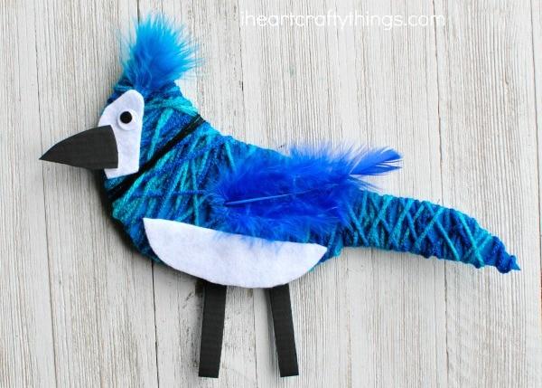 yarn-wrapped-blue-jay-craft-2