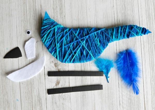 yarn-wrapped-blue-jay-craft-3