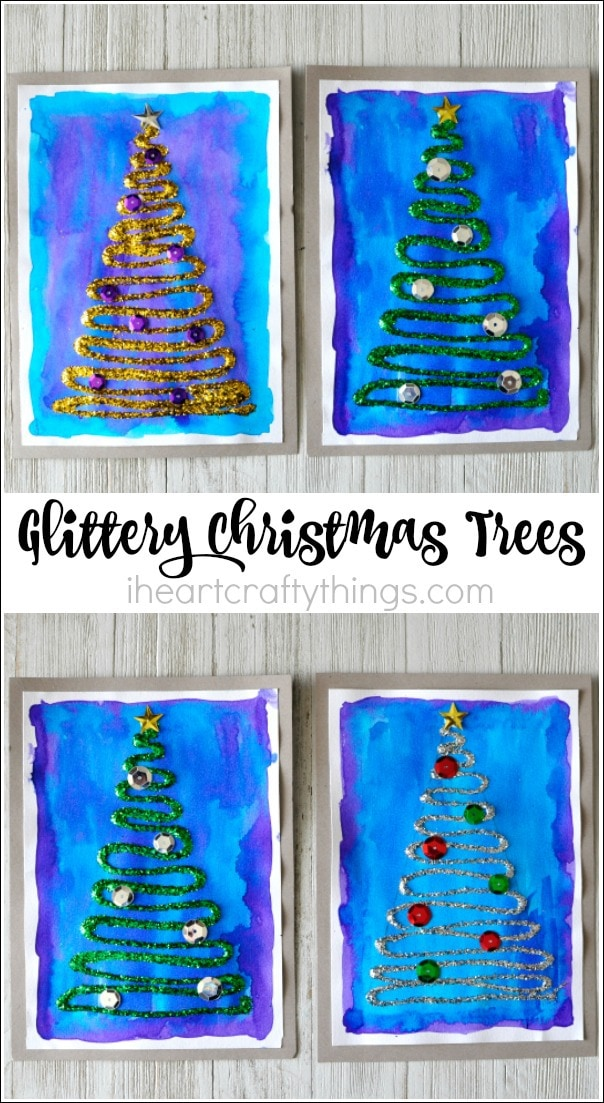 glittery-christmas-tree-craft-2