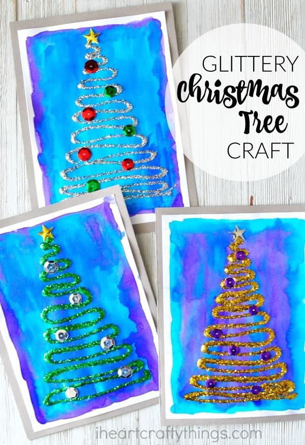 glittery-christmas-tree-craft-4