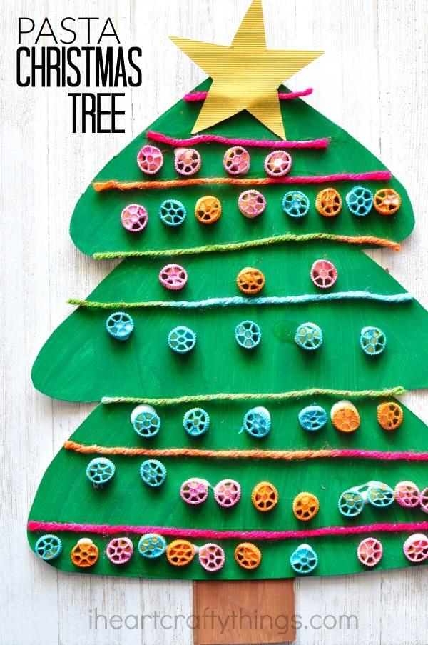 pasta-christmas-tree-craft-2
