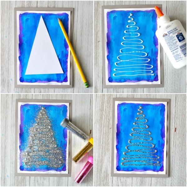swirly-glittery-christmas-tree-craft