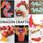 These awesome Chinese New Year Dragon crafts are perfect for celebrating Chinese New Year with kids. Fun Chinese New Year crafts for kids.