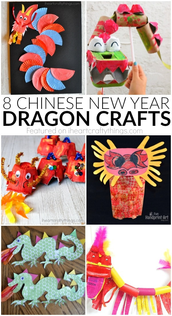 Chinese new year dragon crafts i heart crafty things