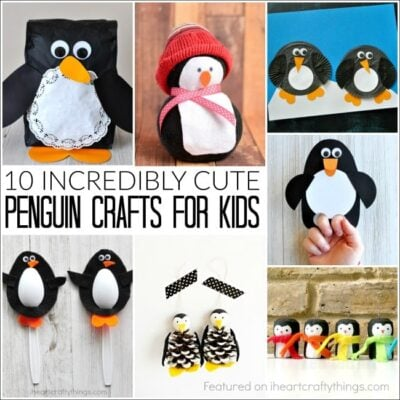 10 Incredibly Cute Penguin Crafts