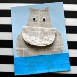 How to Make a Newspaper Hippopotamus Craft