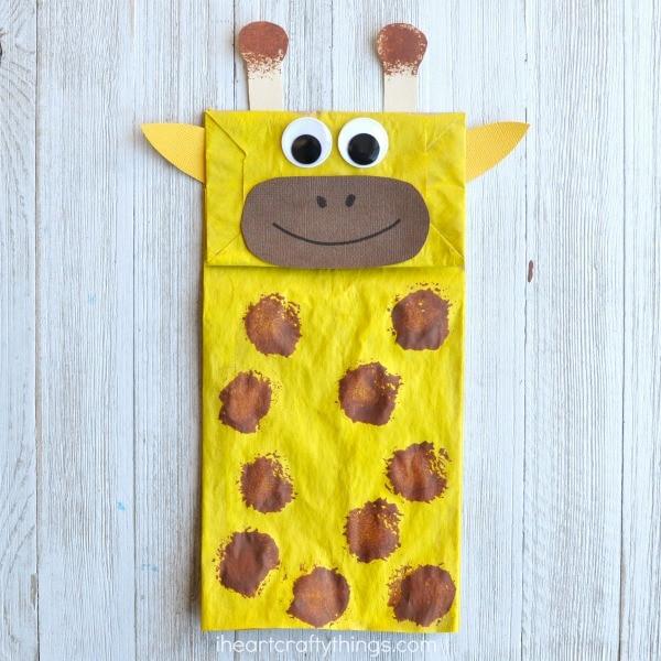 Giraffe Art And Craft