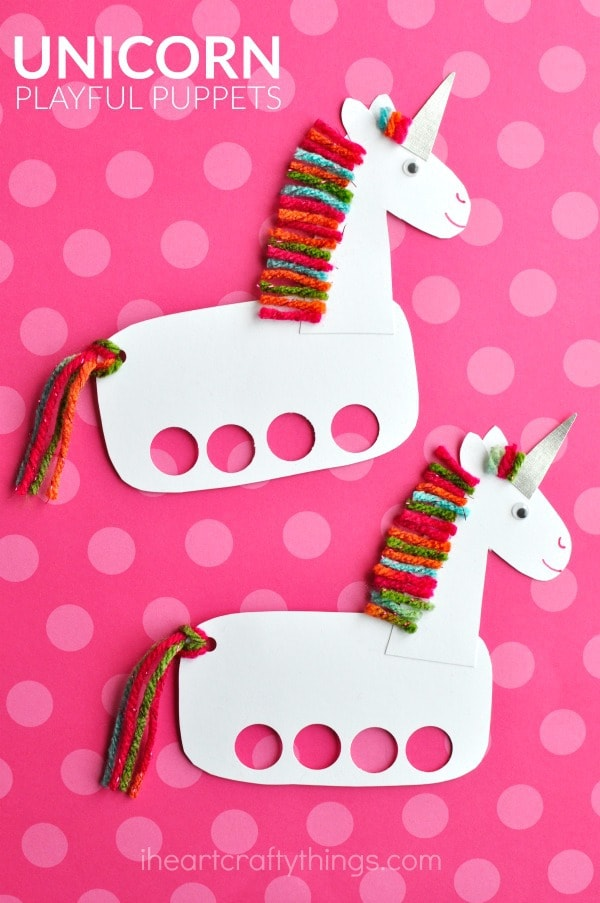 Incredibly Cute and Playful Unicorn Puppets | I Heart ...