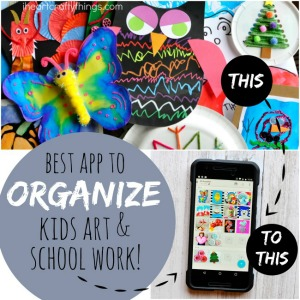 APP TO ORGANIZE KIDS ARTWORK -FREE TO DOWNLOAD!