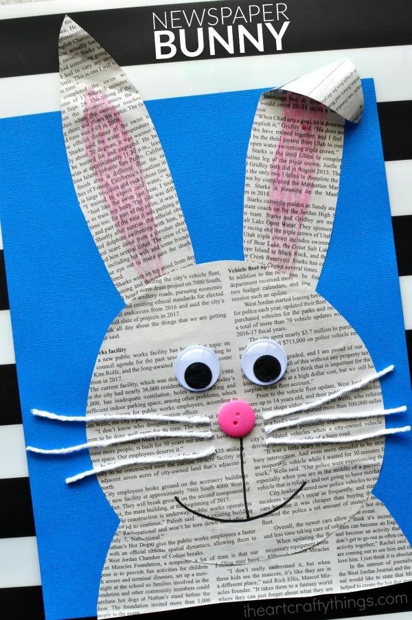 42 simple newspaper craft - photo #13