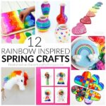 12 Rainbow Spring Crafts You'll Love