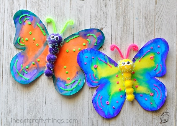 Easy Arts And Crafts On Pinterest