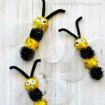 Spring Time Fuzzy Bee Craft