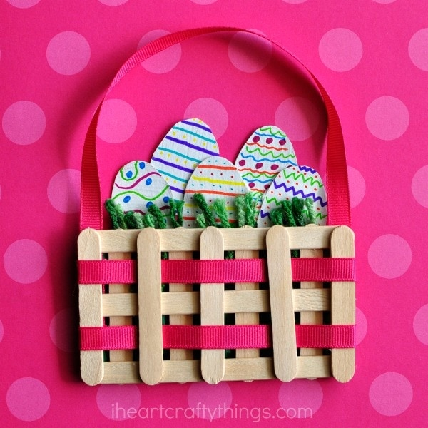 If Youre Looking Or A Fun Easter Kids Craft This Mini Basket Is Perfect