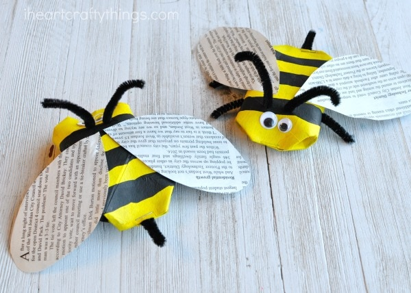 how to make bee wings