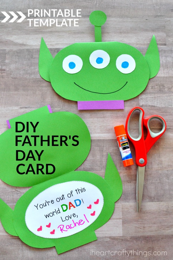 Fathers Day Kids Craft Ideas Part - 48: For More Fun Kids Craft Ideas, Visit Elmeru0027s And Sign Up For Their  Newsletter. Make Sure To Follow Them On Facebook Too!