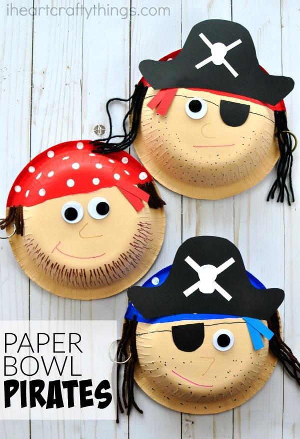 Kids Craft Pirates