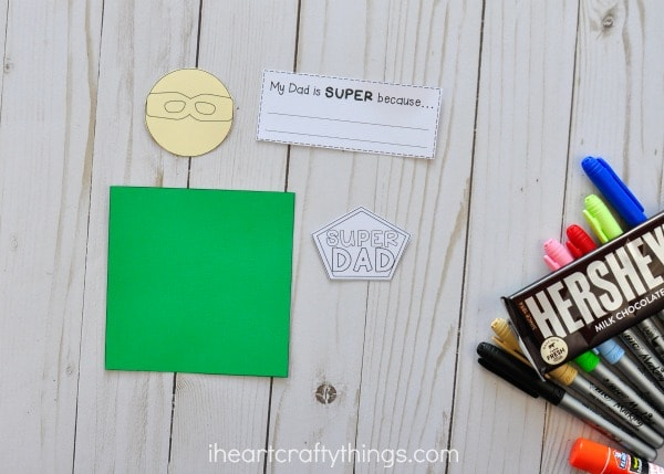 Super Dad Father\'s Day Gift   I Heart Crafty Things