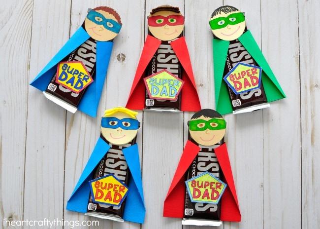 superhero dad craft