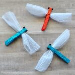 Sparkly Clothespin Dragonfly Craft