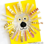 Awesome Newspaper Lion Craft