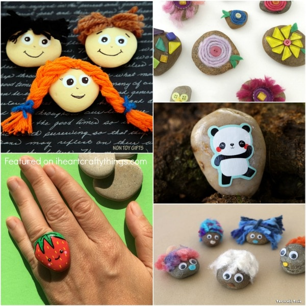25 Creative Rock Crafts Kids Will Love