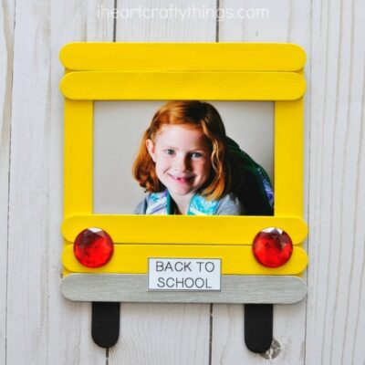 DIY Back-to-School Photo Frame