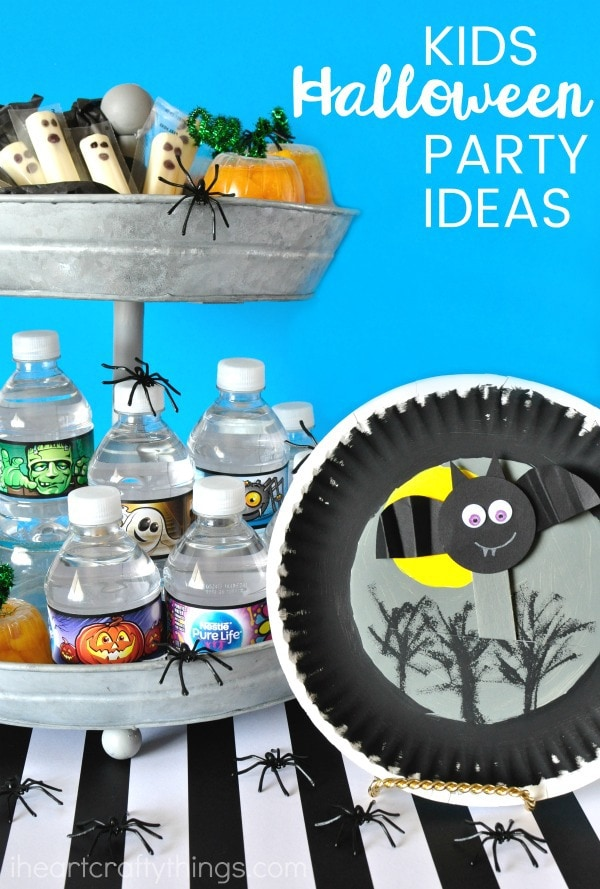 if youu0027re in charge of a classroom party or are taking part in your halloween festivities youu0027ll love these simple kids halloween party ideas