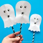 Simple and Easy Paper Ghost Craft