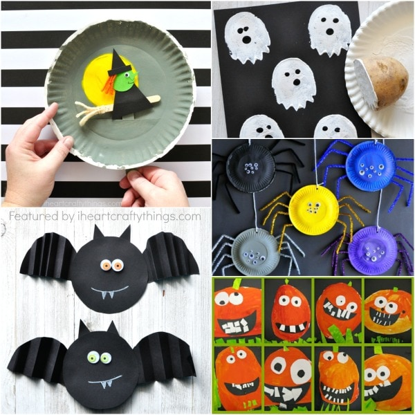 Simple Halloween Crafts Kids will Love! | I Heart Crafty Things
