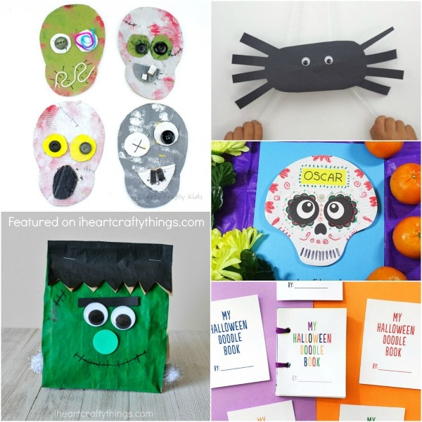 Simple Halloween Crafts Kids Will Love I Heart Crafty Things