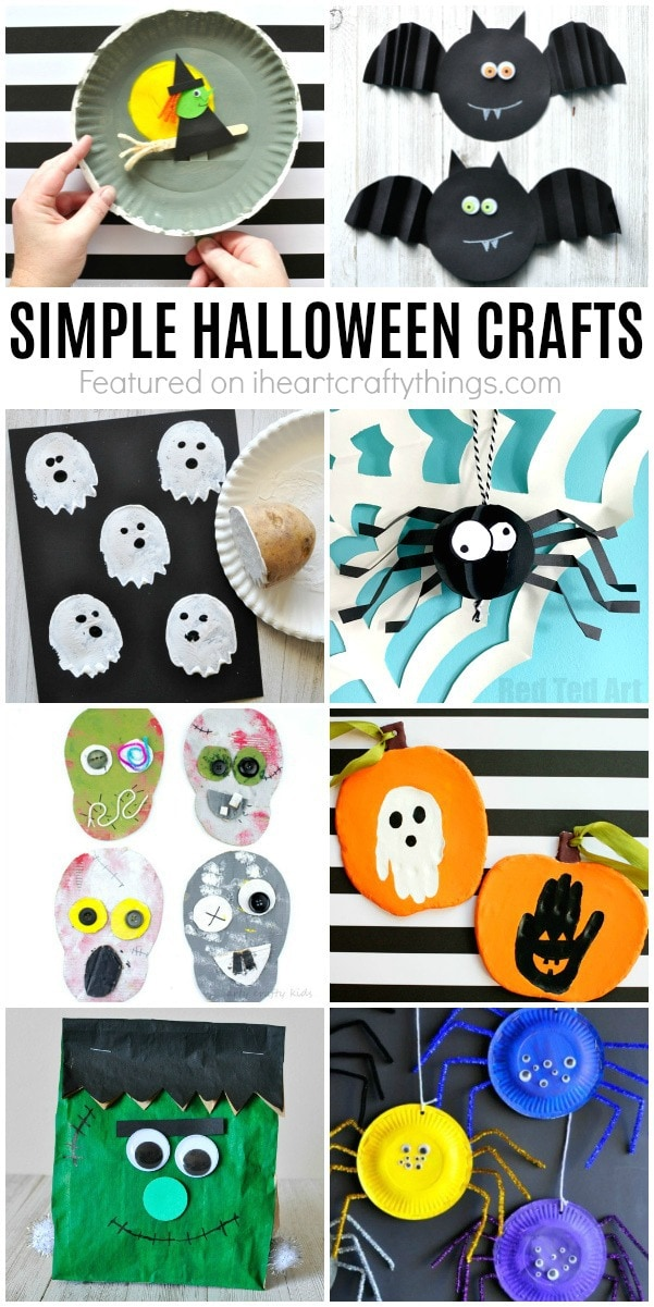 Looking For More Simple Halloween Crafts This Black Glue Pumpkin Art Project Is Great You Might Also Enjoy These Silly Paint Smash Monster