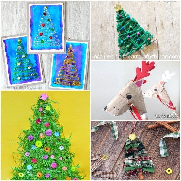 Christmas In July Craft Ideas Part - 43: Glittery Christmas Tree Craft