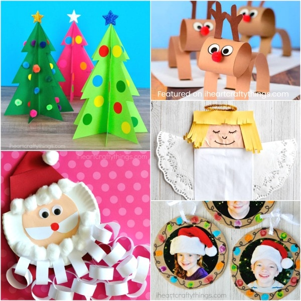 christmas art and craft ideas for children 50 arts and crafts ideas i crafty things 7992