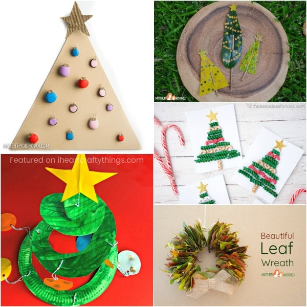 Arts And Craft Christmas Ideas Part - 28: Rock Christmas Tree Craft